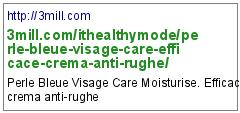 http://3mill.com/ithealthymode/perle-bleue-visage-care-efficace-crema-anti-rughe/